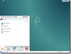 Debian KDE 64 bit