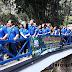Warga Tidak Harus Basah Berjuang Lintasi Sungai, Jembatan Cariu - Sukabumi Selesai Dibangun