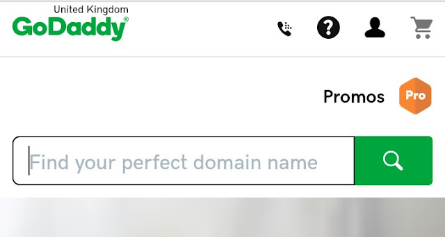 godaddy domain booking