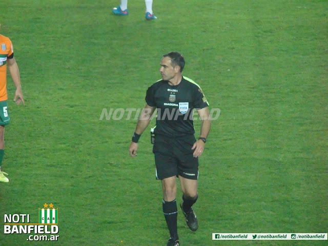 SILVIO TRUCCO ARBITRO NOTI BANFIELD VS ARSENAL 2015