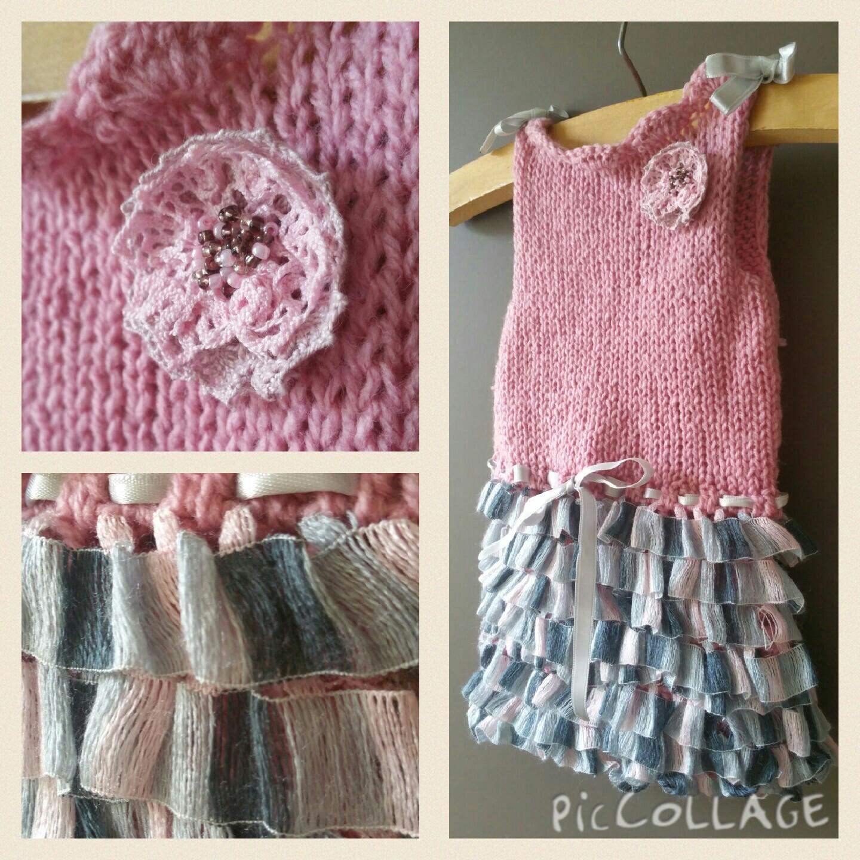 Craftberry Crochet baby dress
