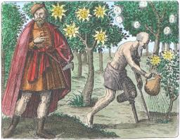 Sendivogius From Maier Symbola Aurea Mensae Franckfurt 1617, Alchemical And Hermetic Emblems 1