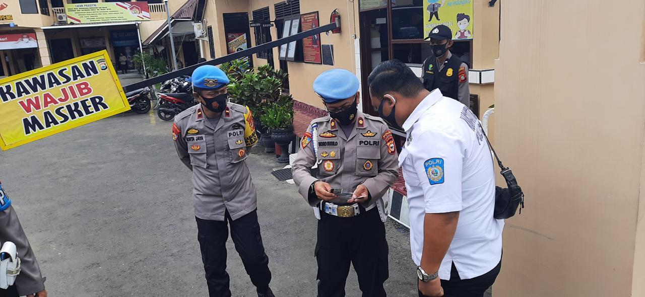 Pemeriksaan Gaktiplin Polda Sulsel di Polres Soppeng Guna Pantau Langsung Kegiatan Personil yang Bertugas