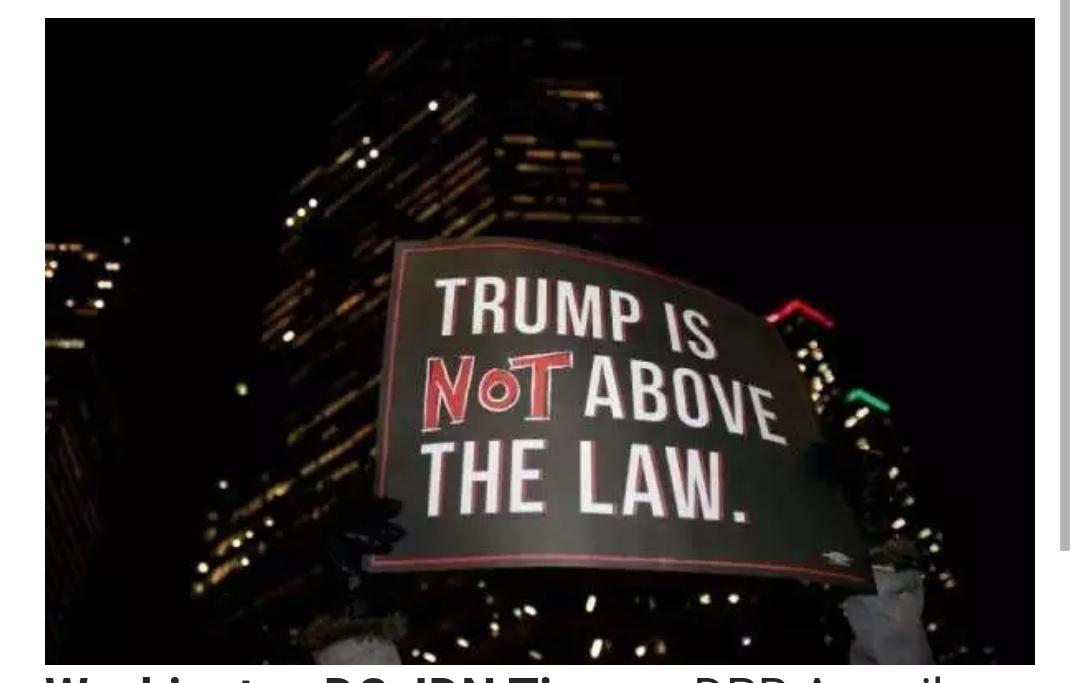 DPR Amerika Tak Main Main, Donal Trump Resmi Dimakzulkan