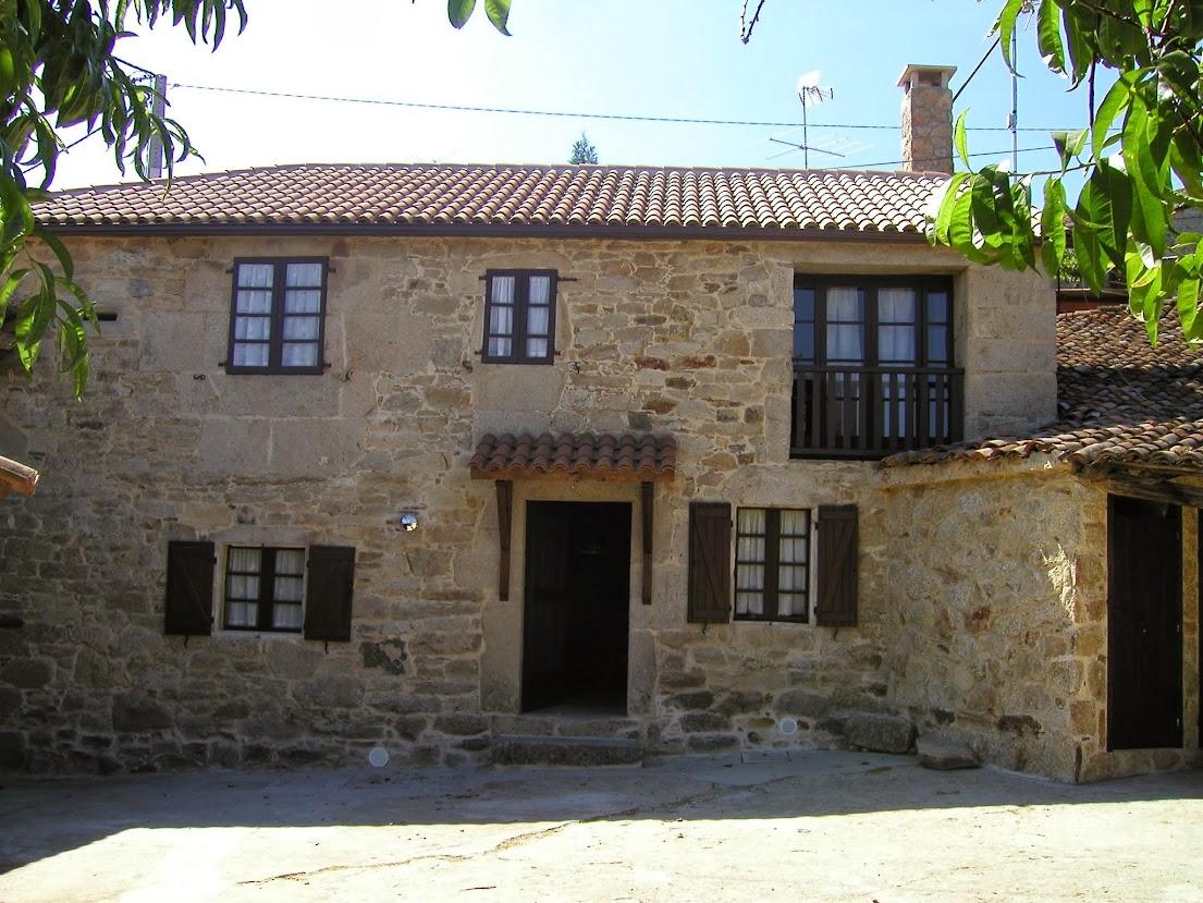 Casa de piedra con finca en venta silleda siglo xix a 20 kms de santiago de compostela - Casa rural silleda ...