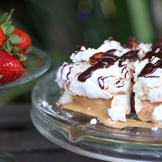 Flourless Gluten Free Almond Meringue Cake