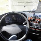 Het dashboard van de Bova Magiq van Tad Tours bus 988