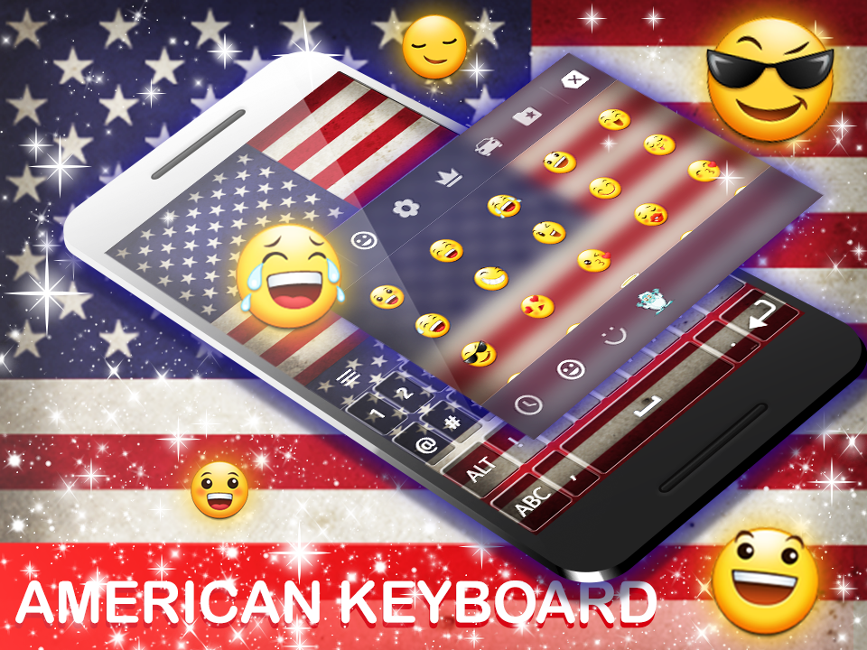 American Keyboard 2018- screenshot