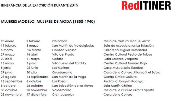 Exposición 'Mujeres modelo. Mujeres de moda (1850-1940)'