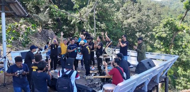 Virtual Live Concert SSB di Wisata Bajuin, Mendapatkan Apresiasi Luar Biasa dari Dispar Tala
