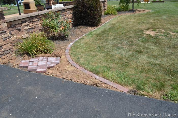Brick Garden Edge
