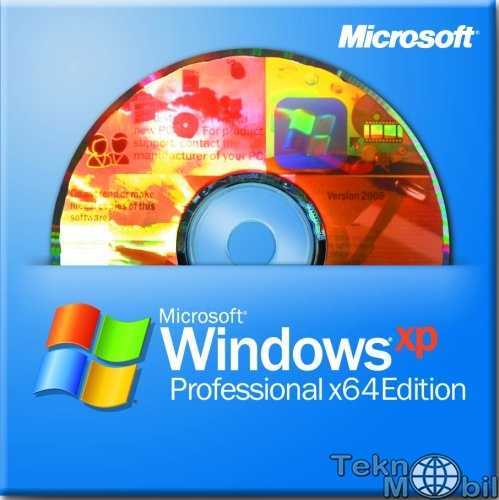 Windows Xp Pro 64bit Sp2 Orijinal (Msdn)