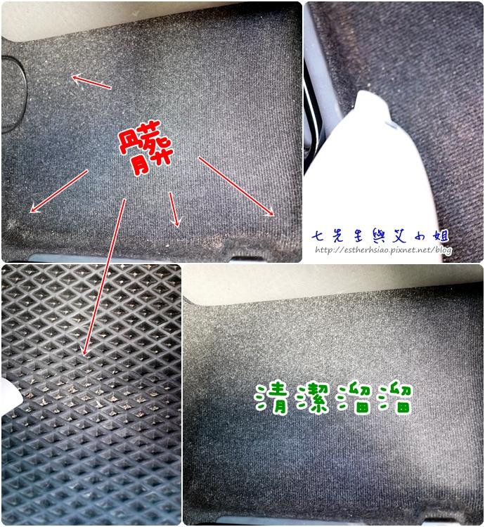 13 清潔汽車腳踏墊