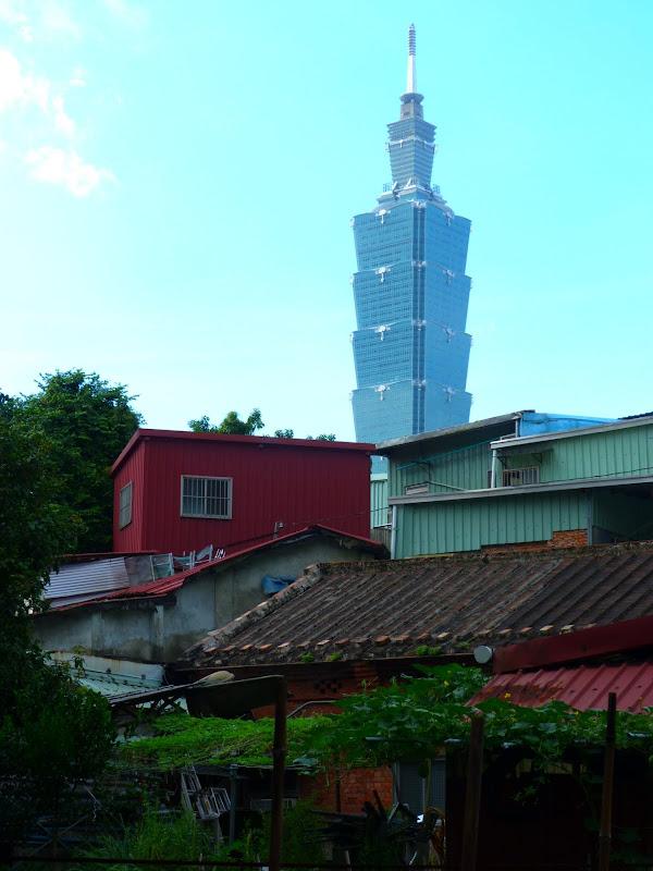 Taipei. Si Shou shan, en plein coeur de Taipei. Accès par un chemin bien plus sauvage. - P1240806.JPG