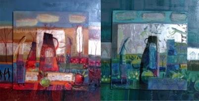 виставка Червоне та синє