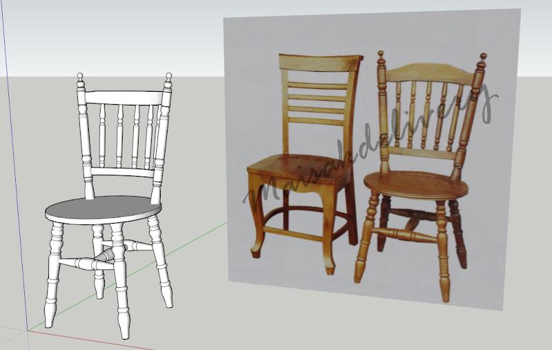 อยากให้สอนการขึ้นโมเดล เก้าอี้ Chair_preview
