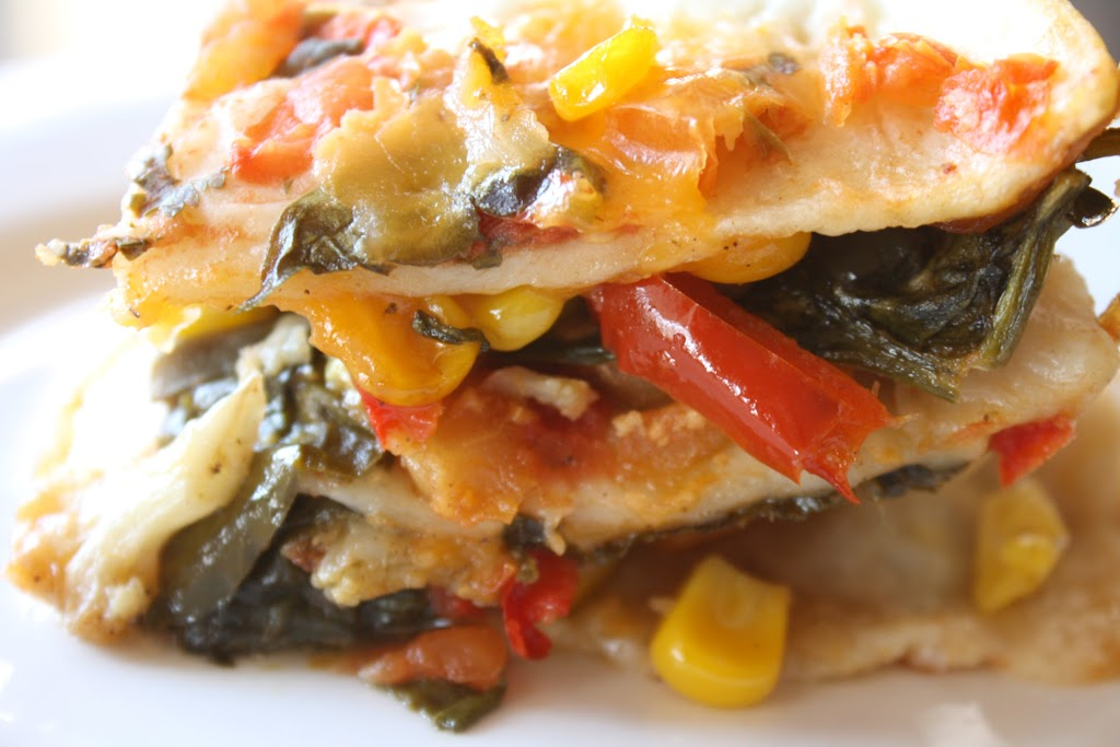 Roasted Vegetable Mexican Lasagna