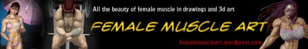 Female Muscle Art