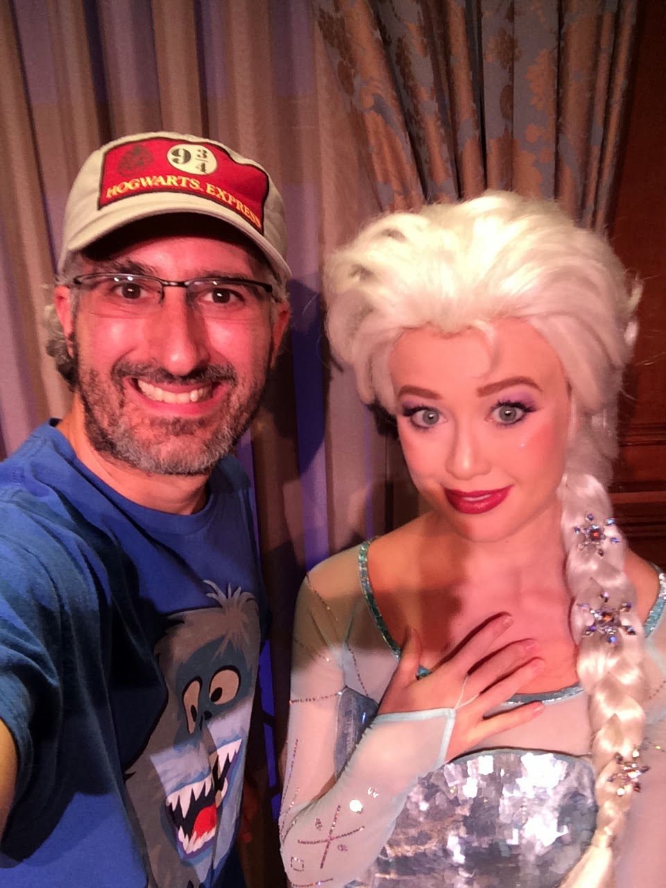 Observations From Magic Kingdom Frozen Meet Greet And Be Our