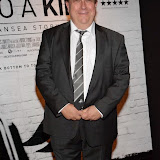 WWW.ENTSIMAGES.COM -    Kevin Jones  arriving at      THE UK PREMIERE OF (JACK TO A KING) THE SWANSEA STORY at EMPIRE, LEICESTER SQUARE London September 12th 2014.The movie of Swansea City's rise from near extinction to the top of the Premier League                                                 Photo Mobis Photos/OIC 0203 174 1069