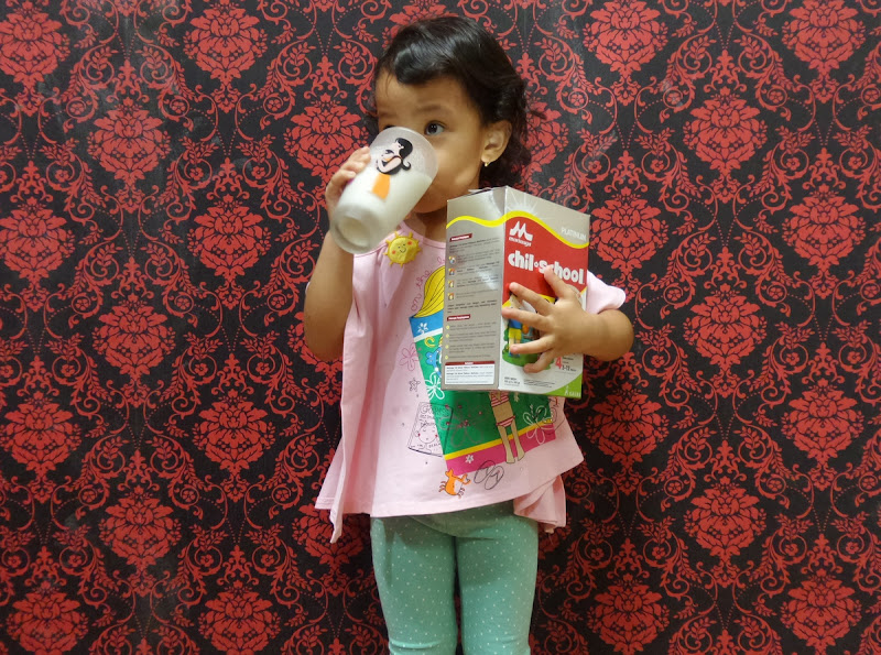 Minum Susu Morinaga Sehat!