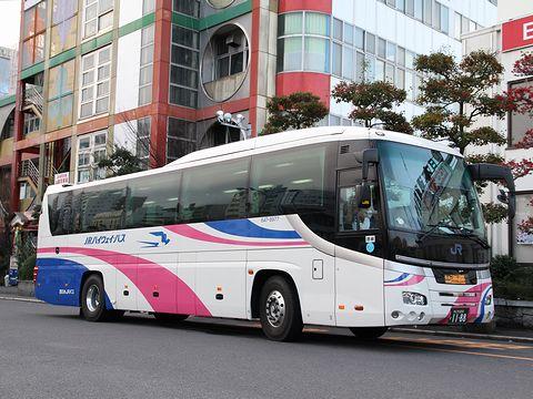 西日本JRバス「松山エクスプレス大阪号」 647-8977