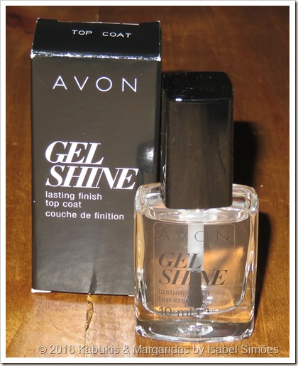 Top Coat Gel Shine da Avon