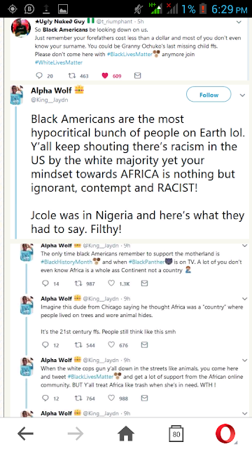 Nigerians Slam Black Americans After J. Cole's Lagos Show Comments (Photos)