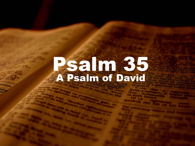 The Journey: Psalm 35 - Another Prayer for Victory