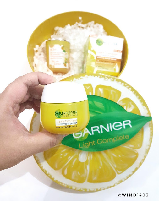[Review] Garnier Light Complete White Speed Yuzu Whitening Serum Cream