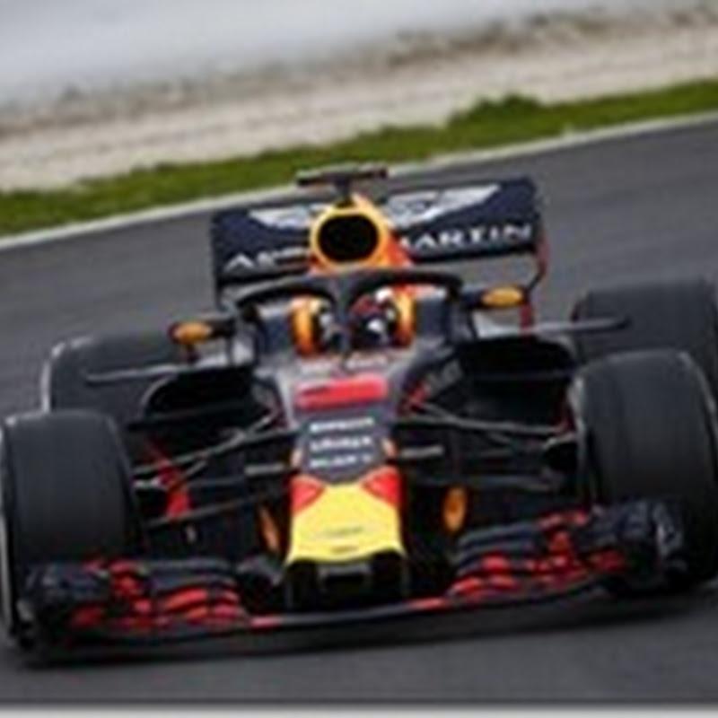 Test Barcellona: Nella prima giornata è Ricciardo il più veloce