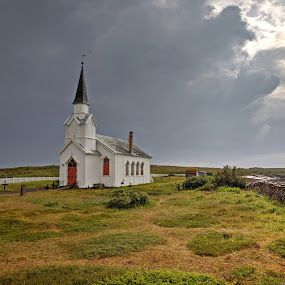 Fisherman`s chuch in northern Norway.. by Roger Gulle Gullesen - Buildings & Architecture Places of Worship