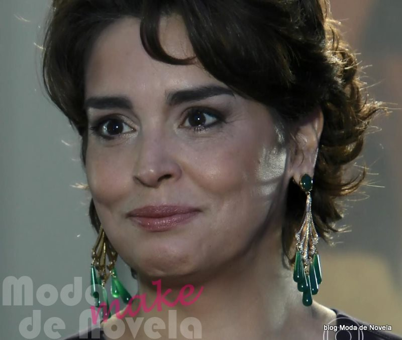 maquiagem da novela Império - Beatriz na festa da joalheria