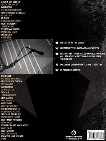 Das Liederbuch 2004-2010 - back