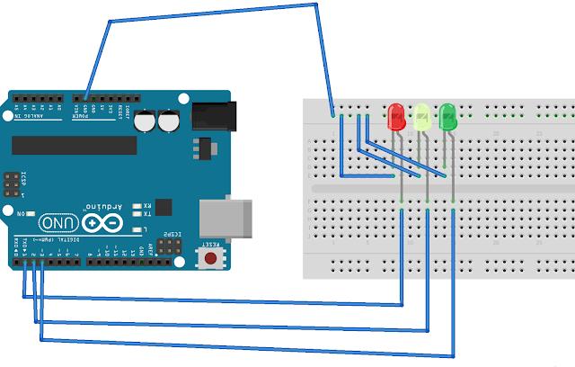 Rangkaian sensor ldr lampu taman