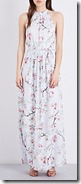 Ted Baker floral devore maxi dress