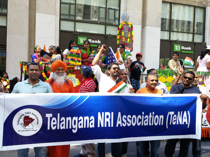 Telangana State Float at India Day Parade NY 2015 - 20150816_122740.jpg