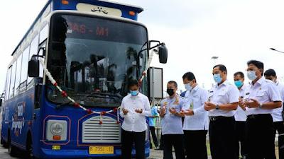 Launching BRT Koridor 4, WaliKota Tangerang Harapkan Warga Bisa Gunakan Transportasi Massal