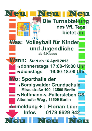 Volleyball für Kinder