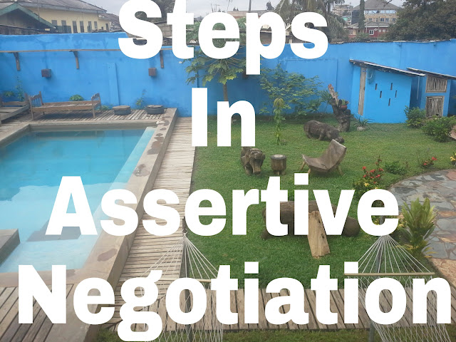Steps In Assertive Negotiation