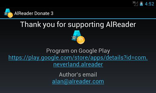 AlReader Donate 3  screenshots 2