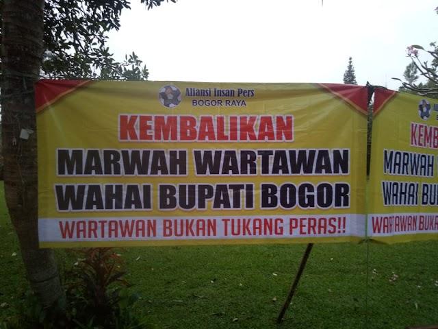 Aliansi Insan Pers Wartawan Bogor Raya Gelar Silaturahmi Dan Pertemuan Terkait Profesi Wartawan Di Kab.Bogor