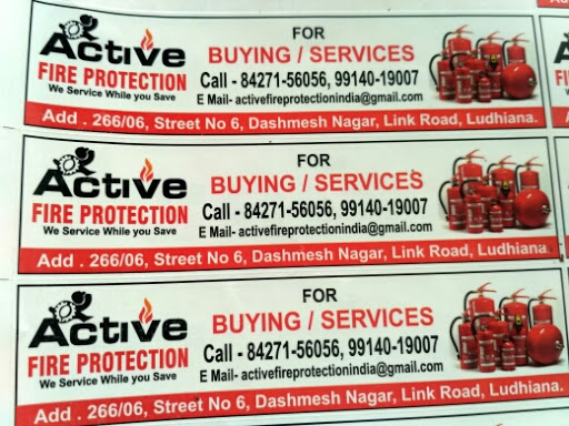 Active Fire Protection-Fire Safety Equipment Supplier, Fire