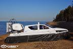 Судно на воздушной подушке Christy 6183 - Ходовые испытания | фото №6