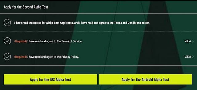 PUBG New State (Mobil) ikinci Alfa Testine nasıl başvurulur?