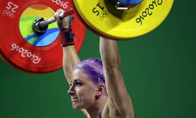 Cabelo Roxo nas olimpíadas 2016