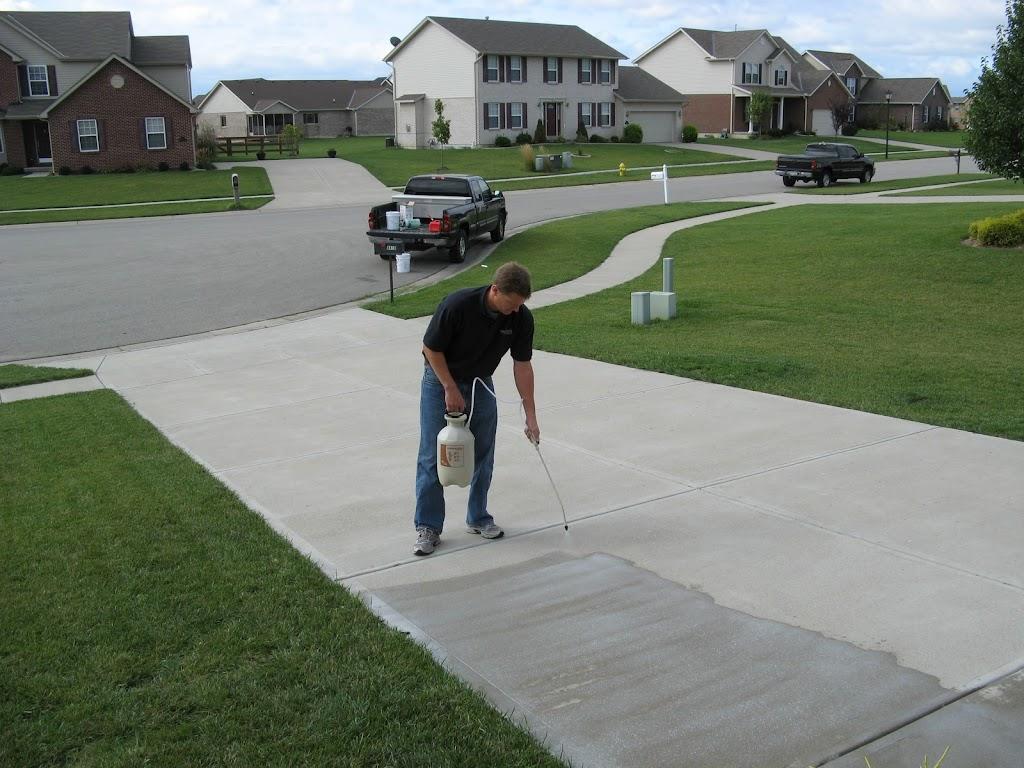 Dayton Cincinnati Concrete Driveway Sealing Contractor