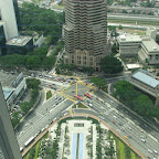 View from the Petronas towers