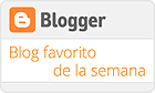 Blog favorito de la semana