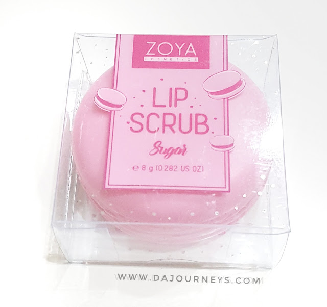 [Review] ZOYA Lip Scrub Sugar